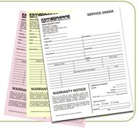 NCR Form 8.5x11