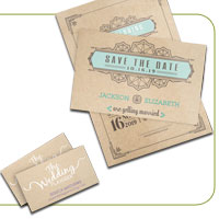 Brown Kraft Postcards