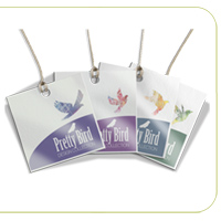 Cold Foil Hang Tags