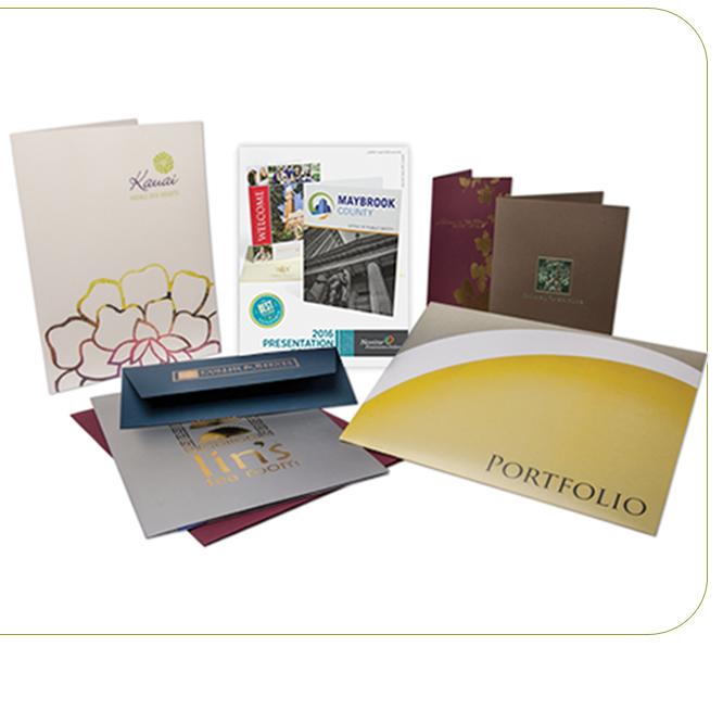 Presentation Folders Linen 100LB