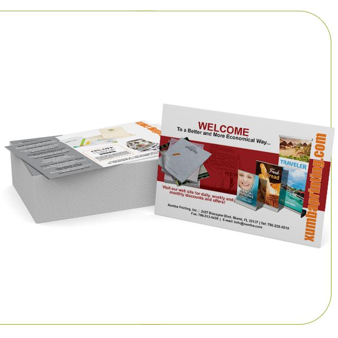Suede (Soft Velvet Lam.) Spot UV Post Cards