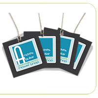 Suede (Soft Velvet Lamination) Hang Tags