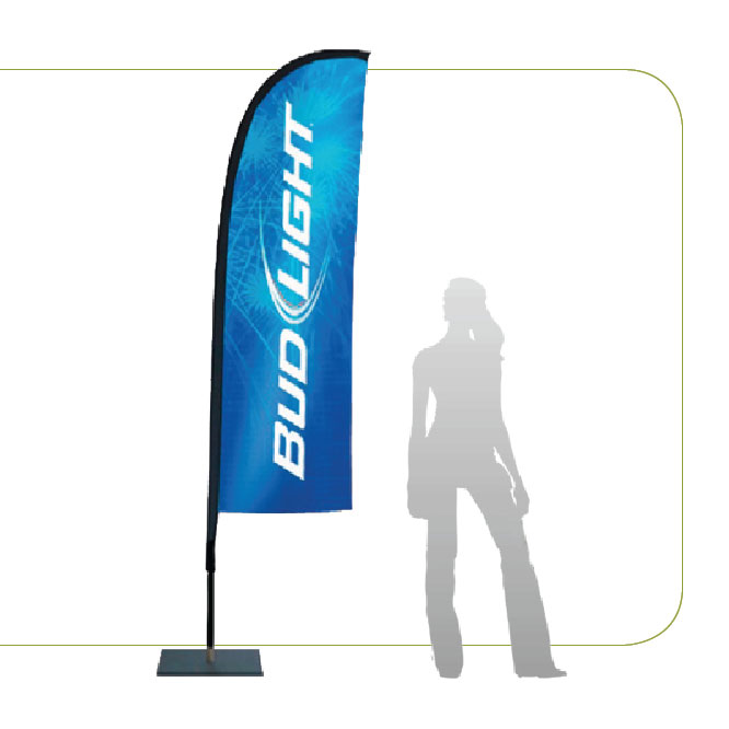 Front Store Flying Banner