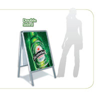 Outdoor Sign Stands