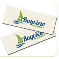 Natural 14PT Slim Business Cards