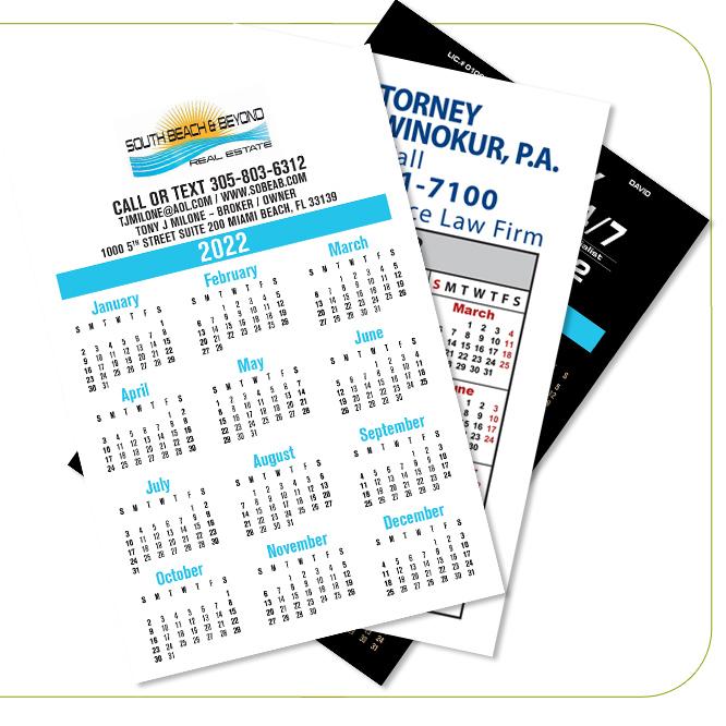 Magnets Calendards